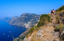 The Path of Gods from Agerola to Positano