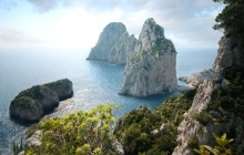 Hiking Capri Island