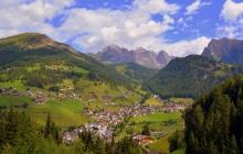 Arrivée à Cortina d'Ampezzo