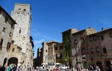 Colle Val d'Elsa - San Gimignano par la via Francigena