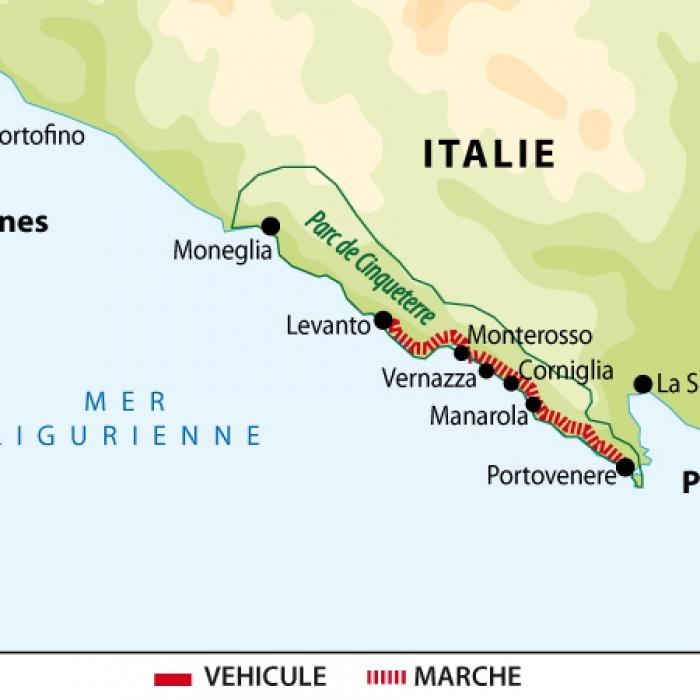 Les 5 Terre Et Portofino Altai Italia